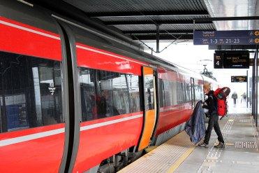 interrail scandinavie trein