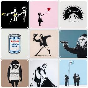 ixxi-banksy-collage maken
