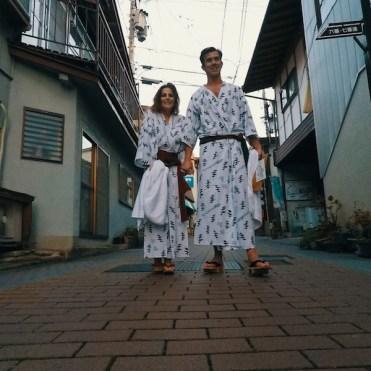 Japan ryokan slapen