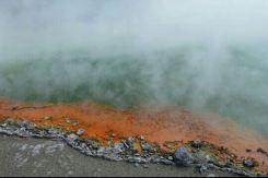 nieuw zeeland Wai O tapu thermal wonderland