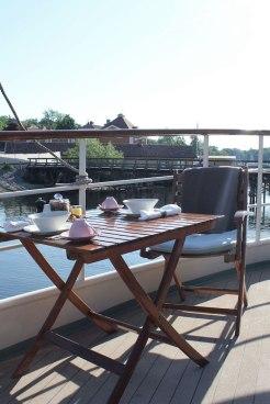 ontbijt hotelboot zweden