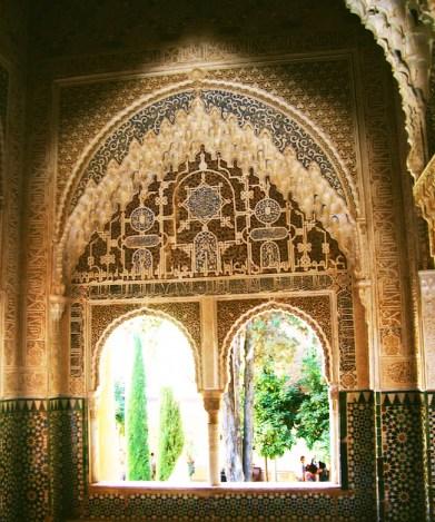 paleis muren van alhambra