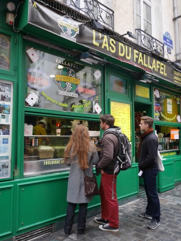 parijs l'as du fallafel le marais