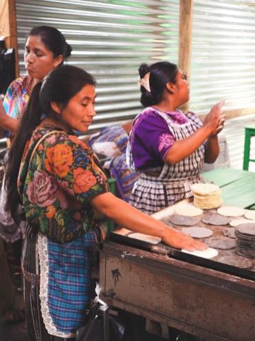 tortilla's chichicastenango in guatemala