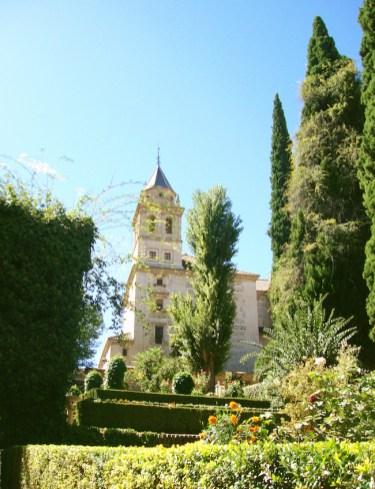 tuinen bij Alhambra