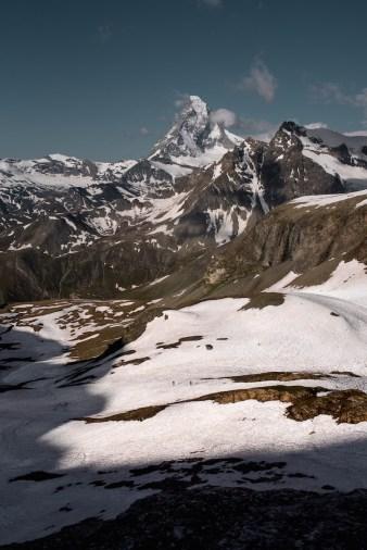 uitzichten in de zwitserse alpen