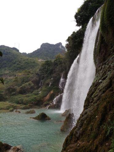 watervallen vietnam Ban Gioc Waterfall