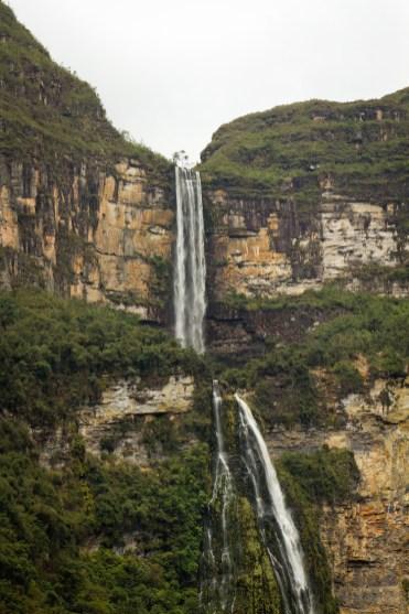 watervallen Chachapoyas peru