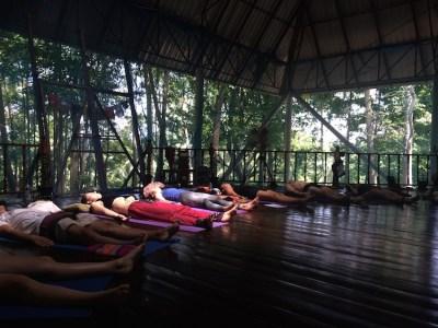 yogales tijdens yogaopleiding thailand