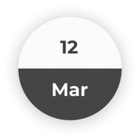 12 March