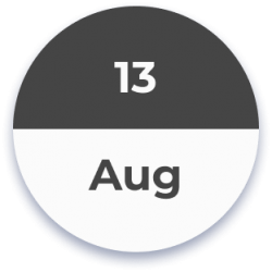 13 August