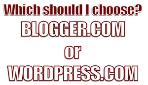 Wordpress OR Blogger | wearewordnerds.com