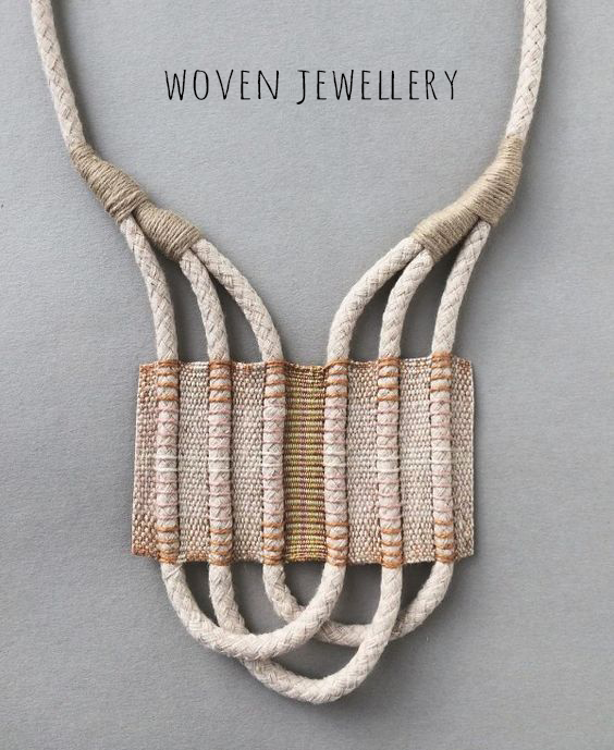 lesh-studio woven rope necklace