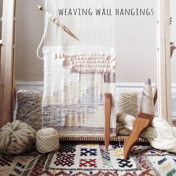 Weaving wall hangings|Deco Friday
