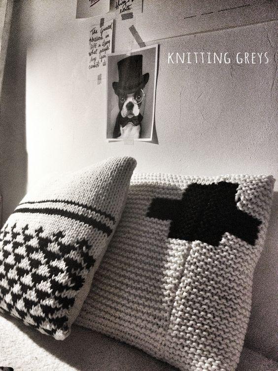 Knitting greys-Mechant studio