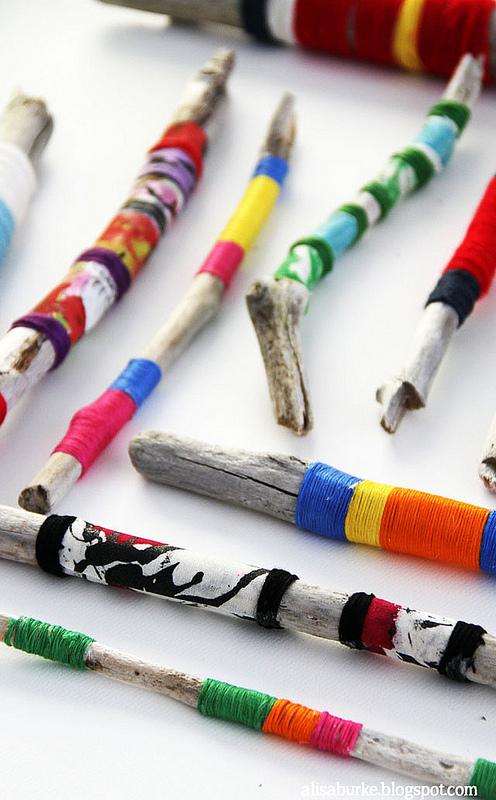alisa burke-yarn sticks