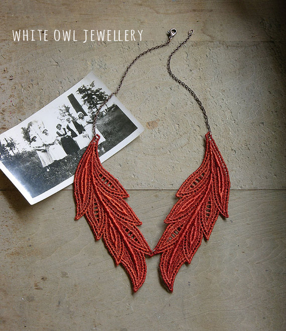 White Owl jewellery