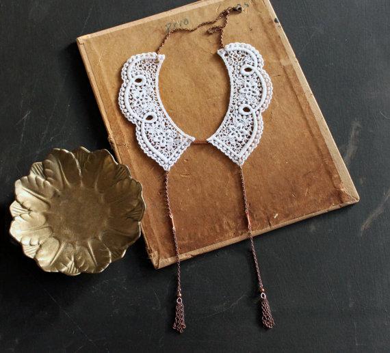 white owl romantic neckpiece 02