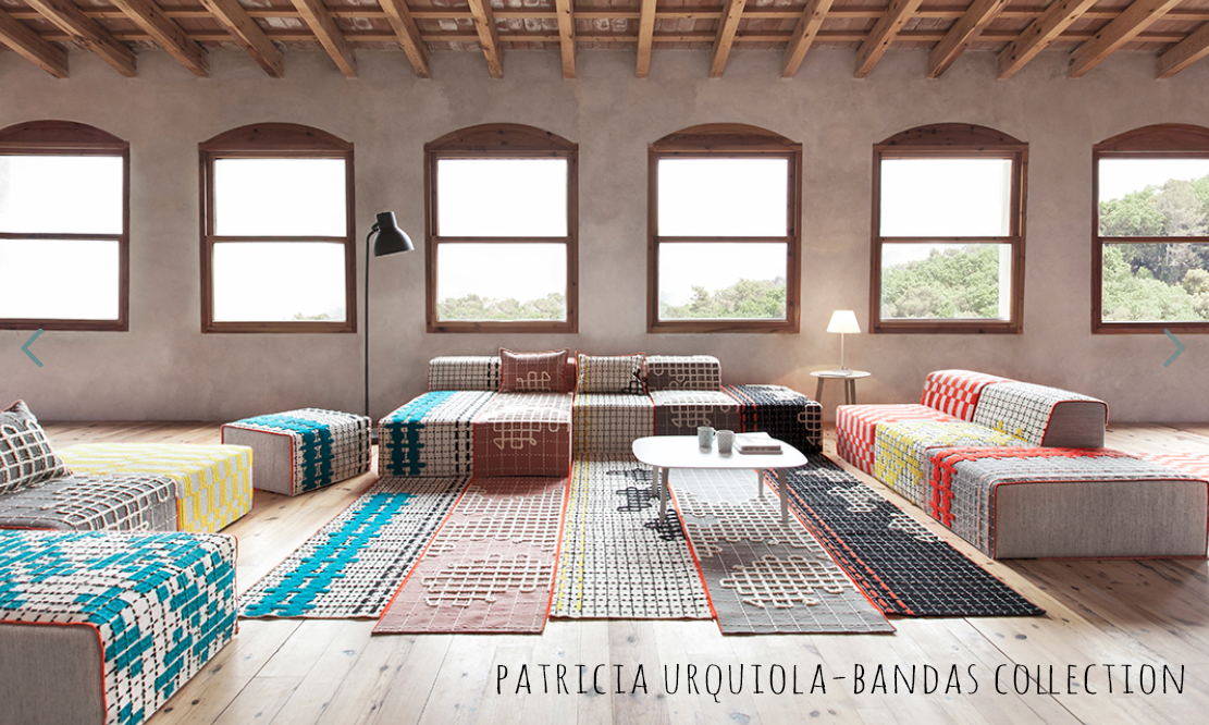 Patricia Urquiola-Bandas collection