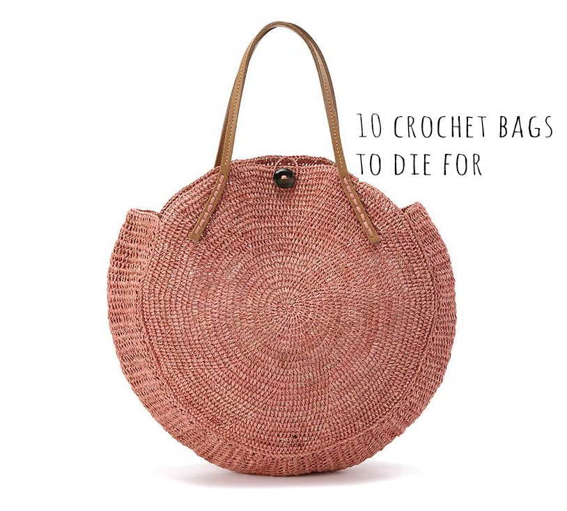 Sunday Visual Diary #11: 10 crochet bags to die for