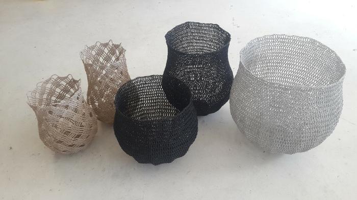 Moonbasket design baskets monochrome
