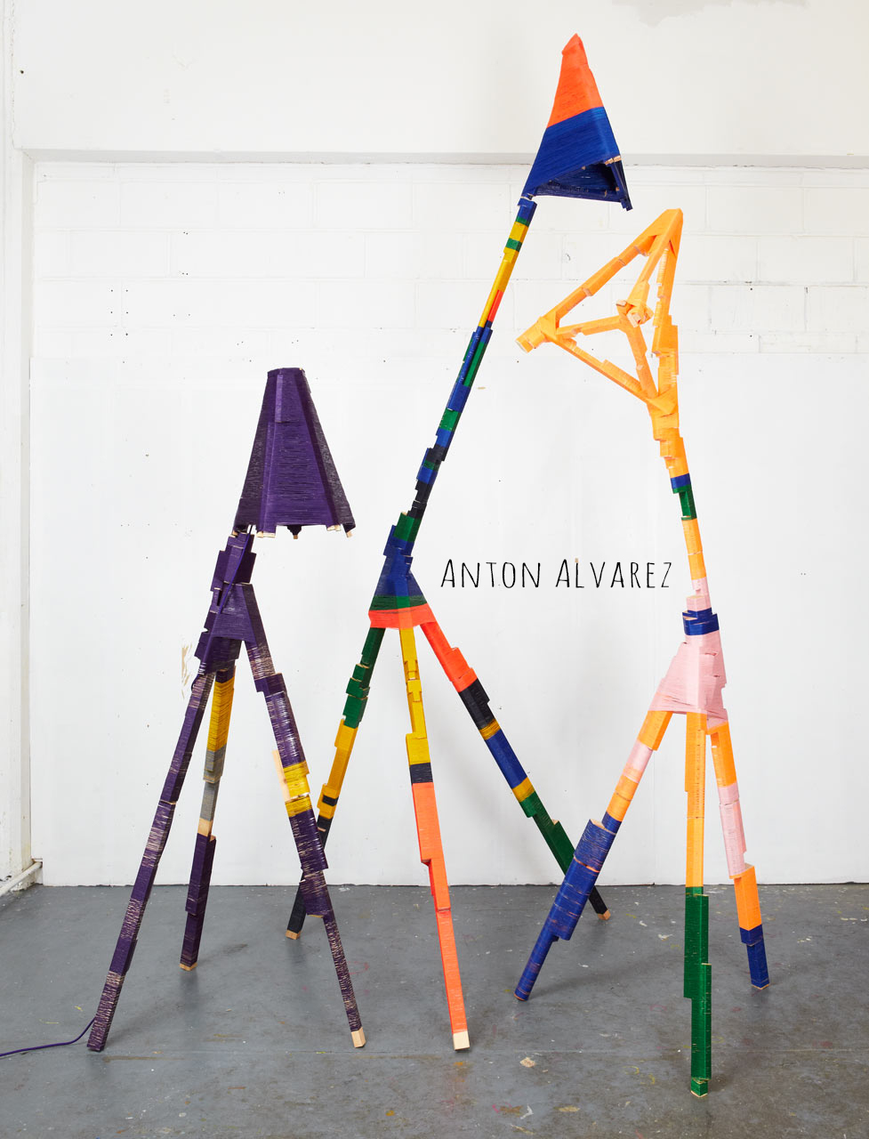 Anton Alvarez-The craft of Thread Wrapping | Deco Friday