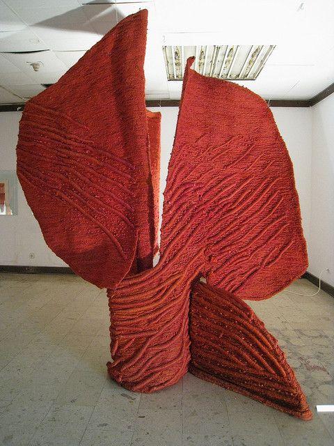 Jagoda Buic red sculpture