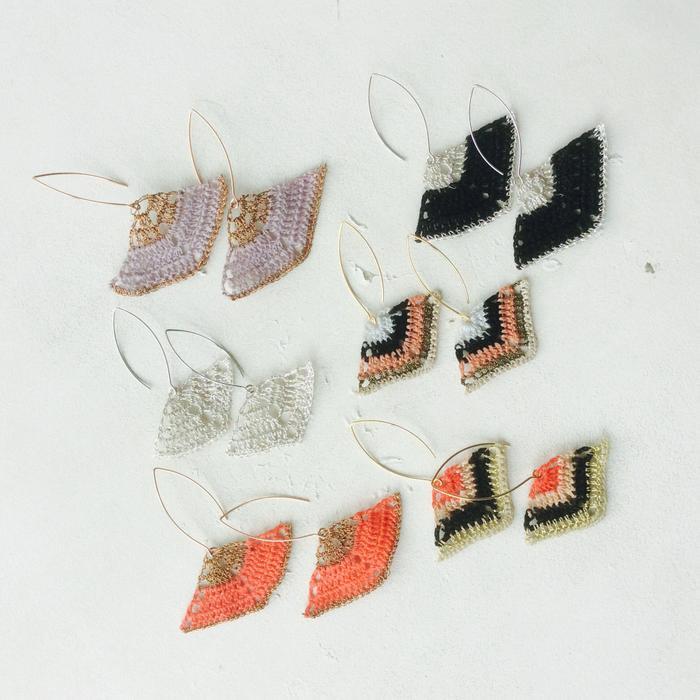 Moonbasket jewellery colour earrings