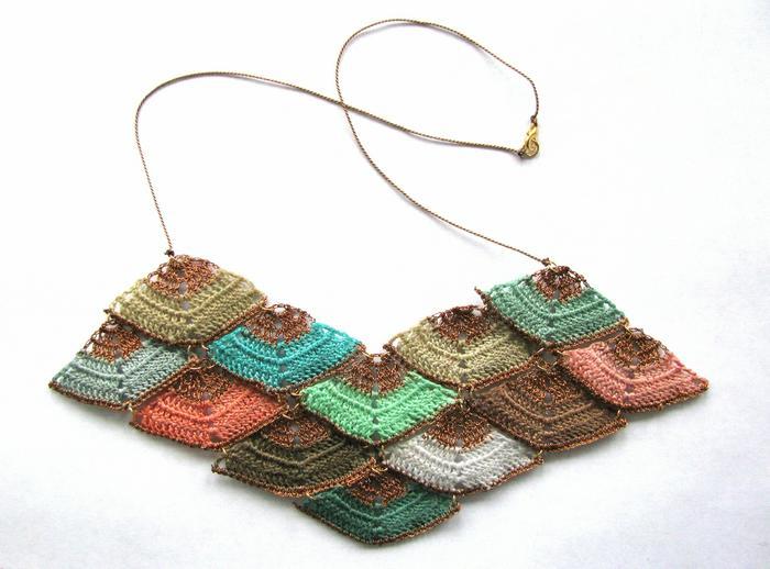 Moonbasket jewellery colour prism necklace 02