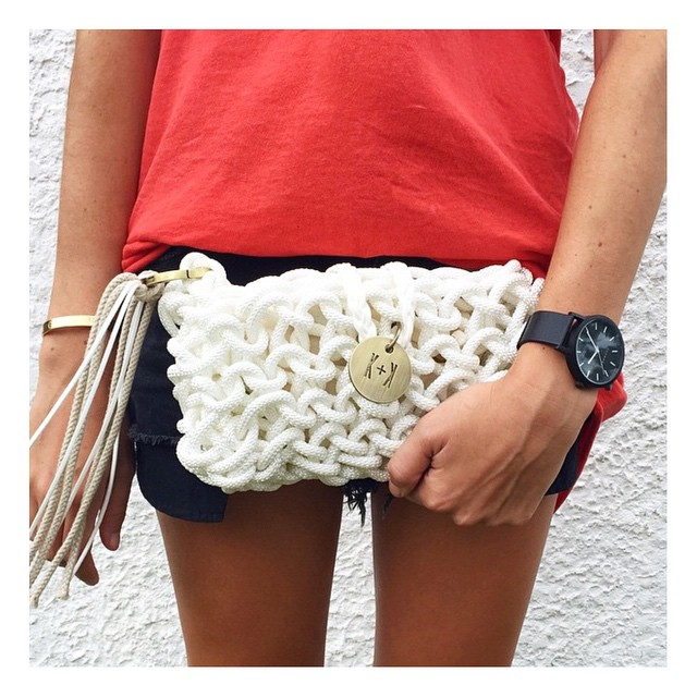 Knots & Knits in white