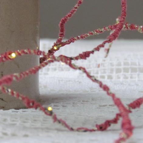 Melanie Porter hand spun string lighting 02