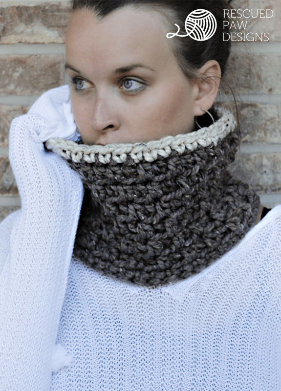 Rescued paw designs-The Jamie cowl