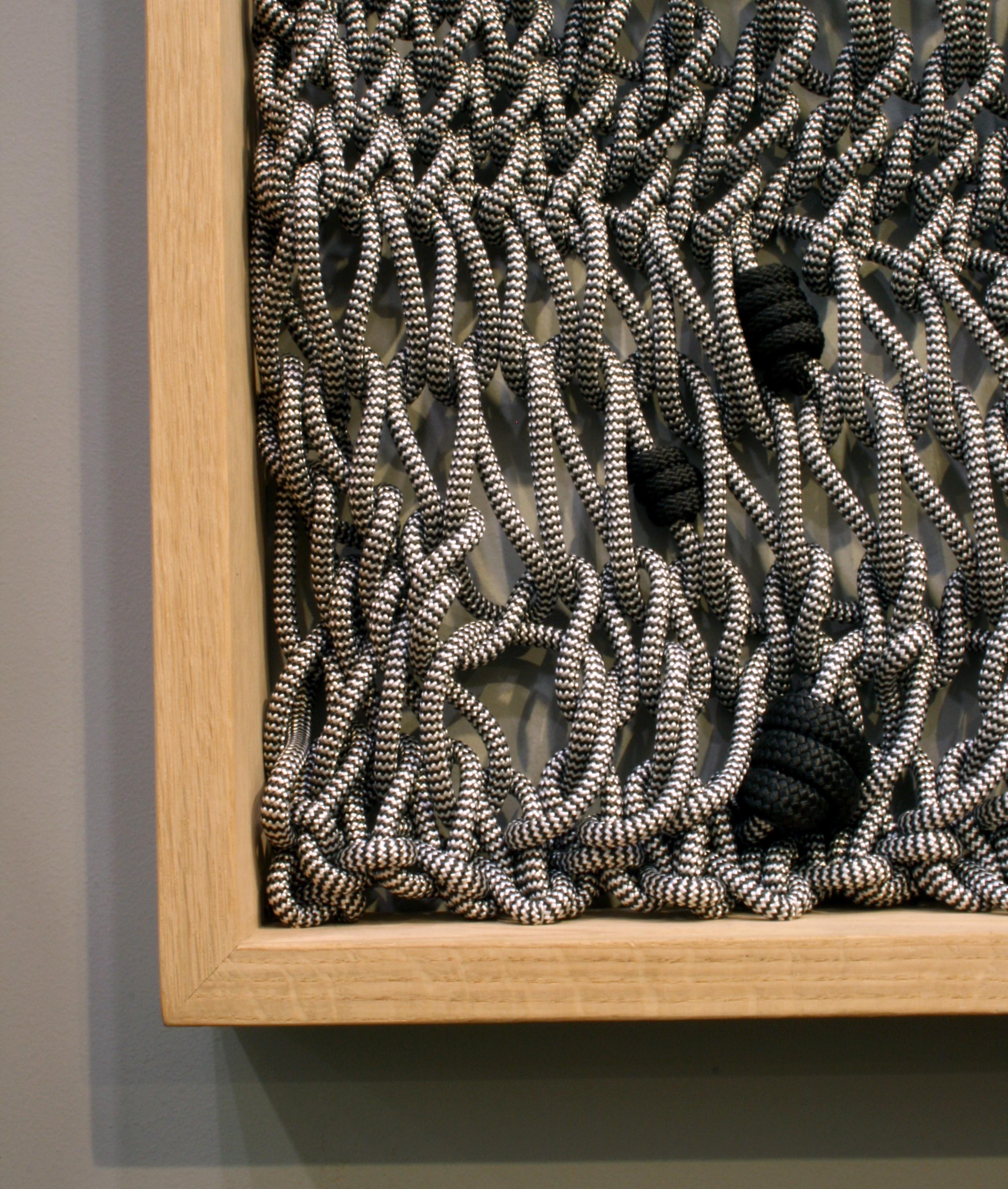 thread architecture rope wall hanging detail
