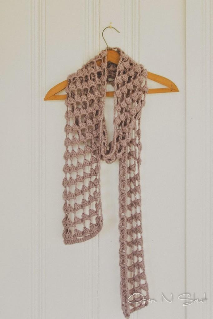 margoknits triangle crochet scarf 02