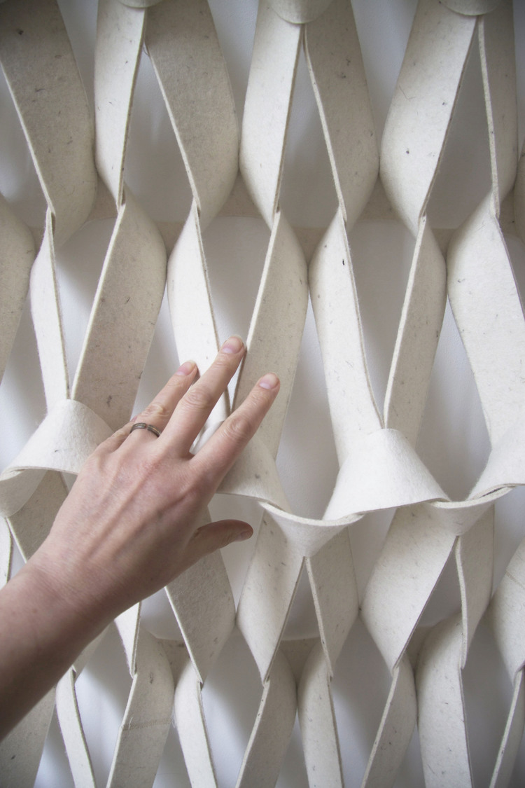 PLECTERE braided acoustic solutions detail Petra Vonk