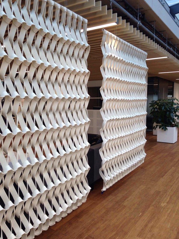 PLECTERE braided acoustic solutions Petra Vonk Studio