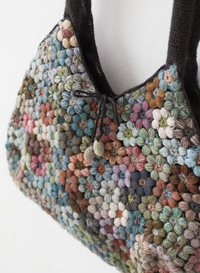 Sophie Digard bag flowers