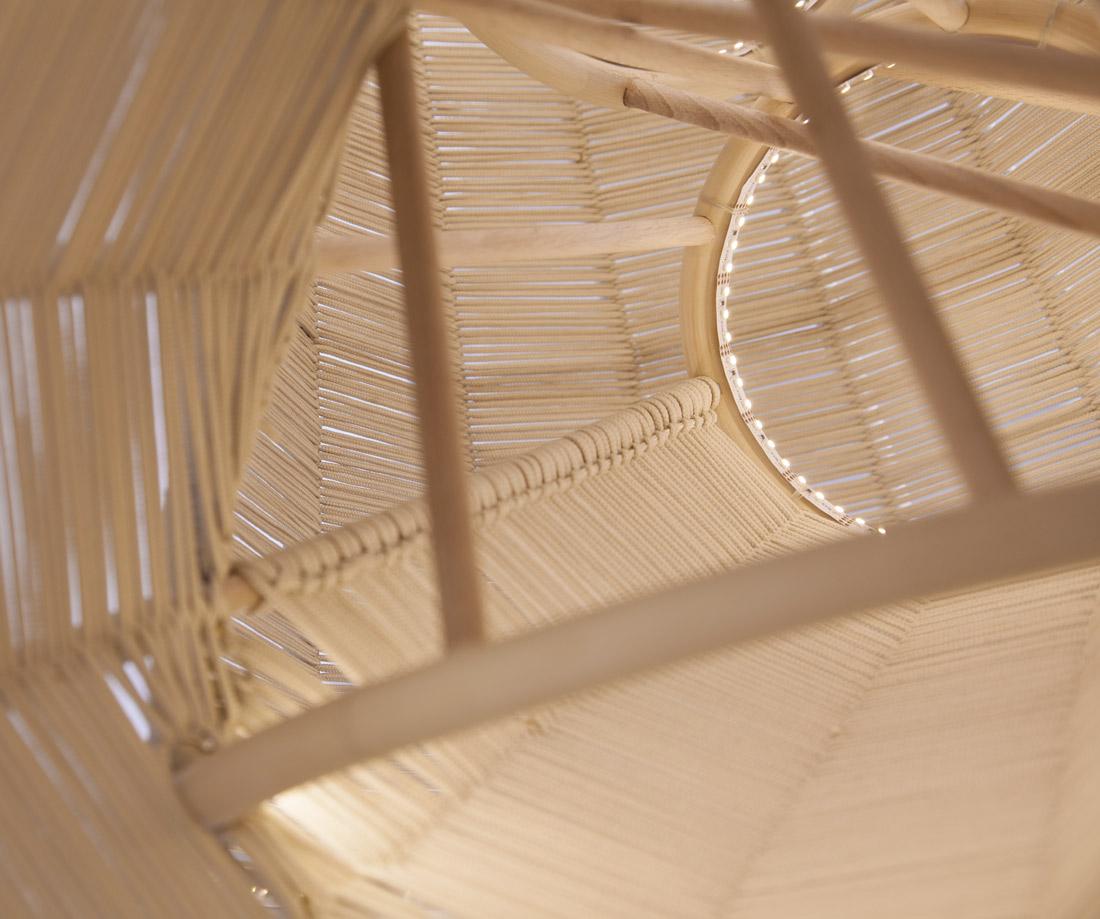 LLOT LLOV design studio lighting detail