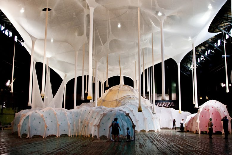 ernesto neto big scale installations
