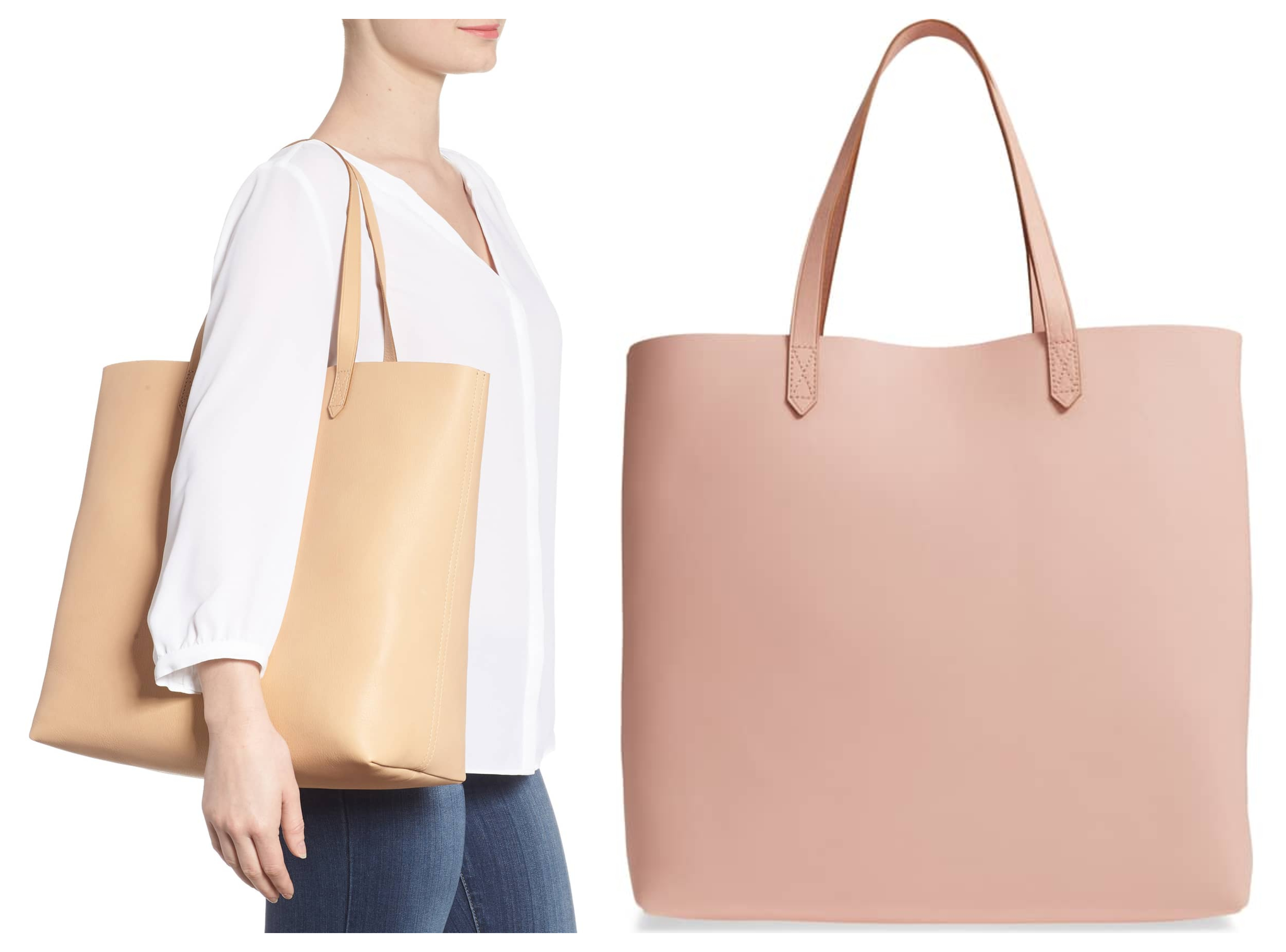 Nordstrom  Madewell  Transport  Leather Tote – 50% off + Free Shipping! 35b34aec98639
