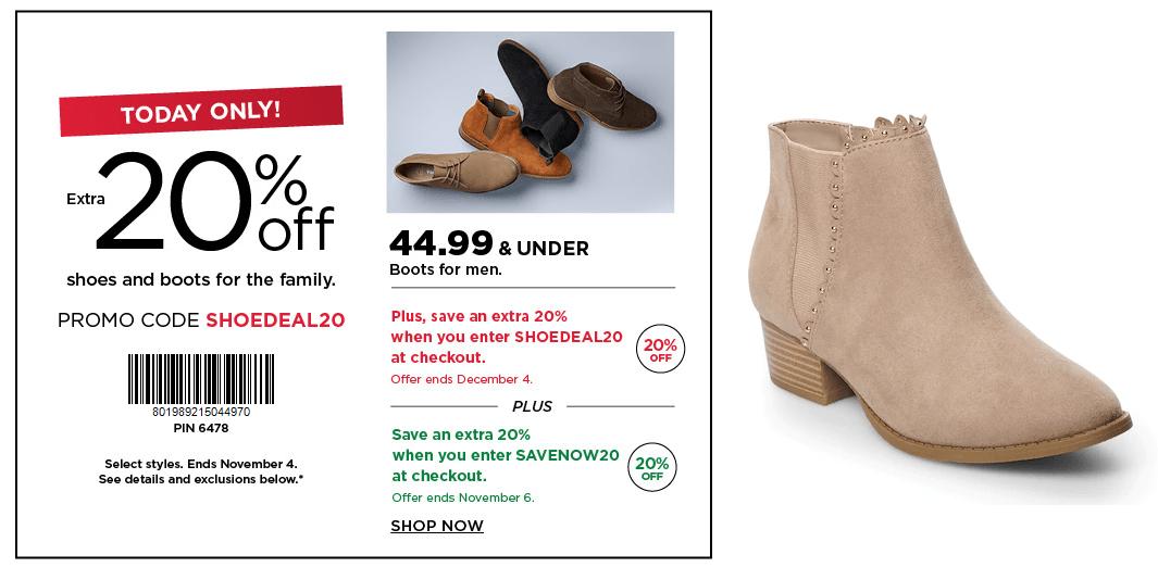 Kohl's: LC Lauren Conrad Ankle Boots
