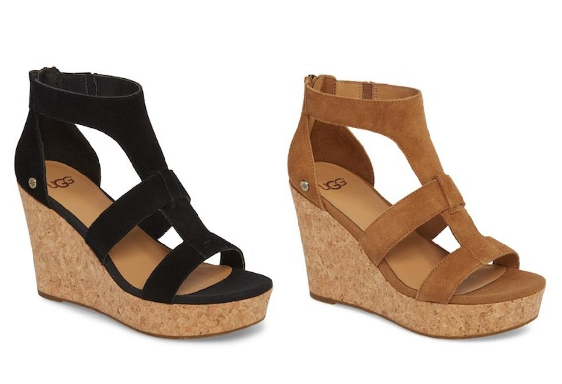 ugg whitney platform wedge sandal