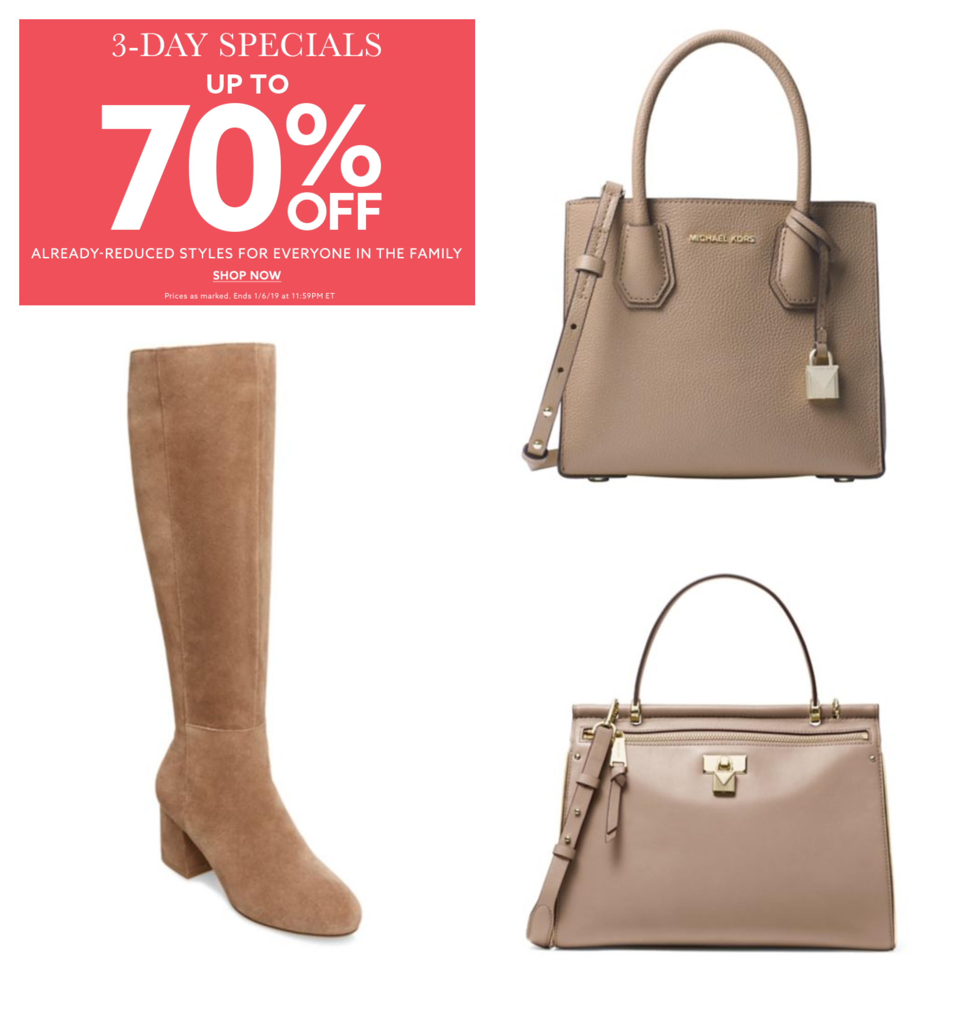 b8f32eb58d0a Lord   Taylor  70% Off Michael Kors Bags and MORE! – Wear It For Less