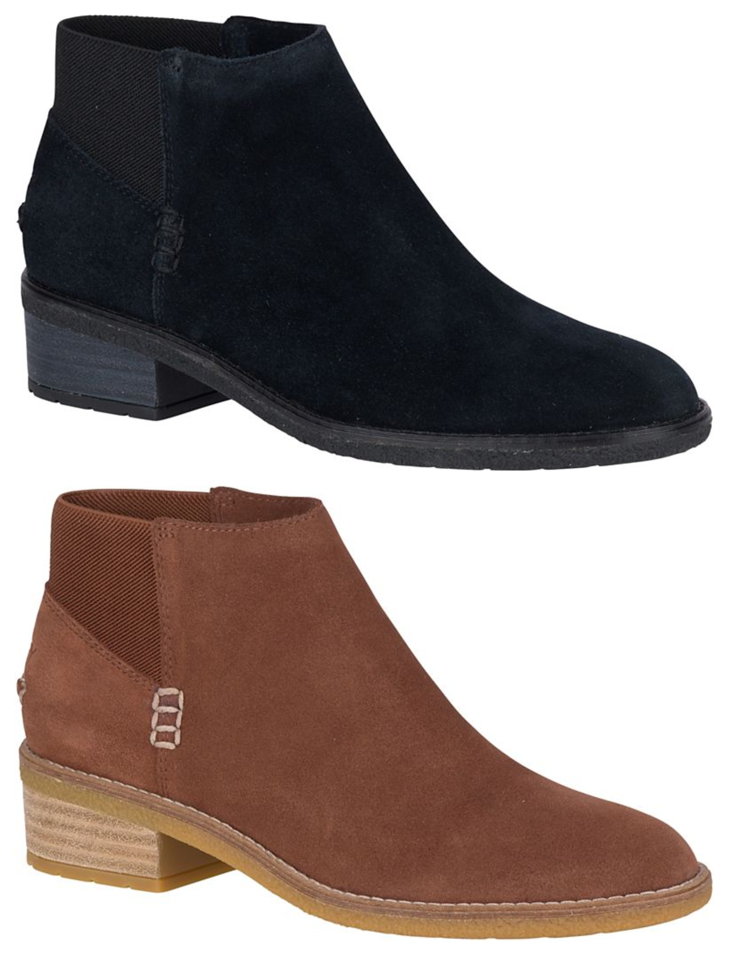 Sperry: Maya Lani Suede Chelsea Boots