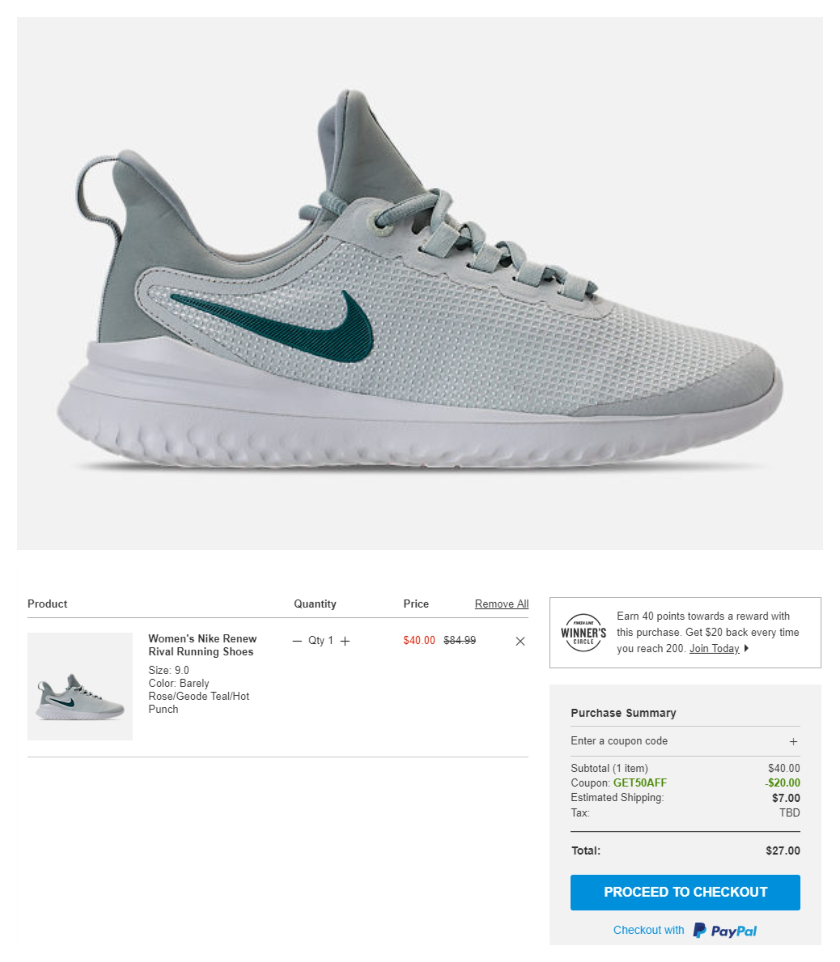 e084a7806b287 Finish Line: Nike Renew Rival Running Shoes – only $27 Shipped (reg ...
