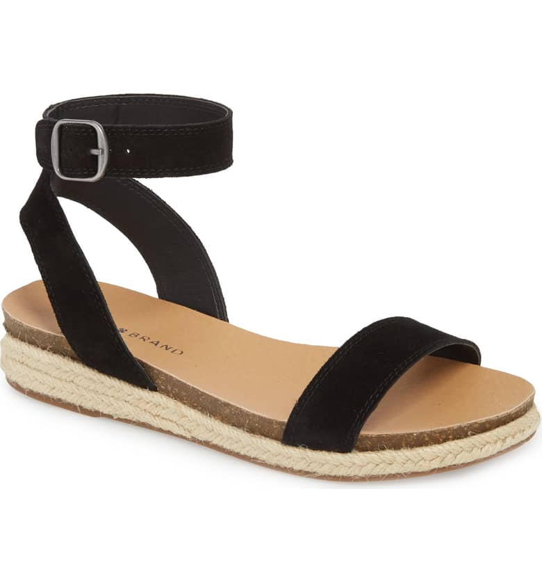 60a50f4166d Nordstrom: Lucky Brand Garston Espadrille Sandals – only $38 (reg ...