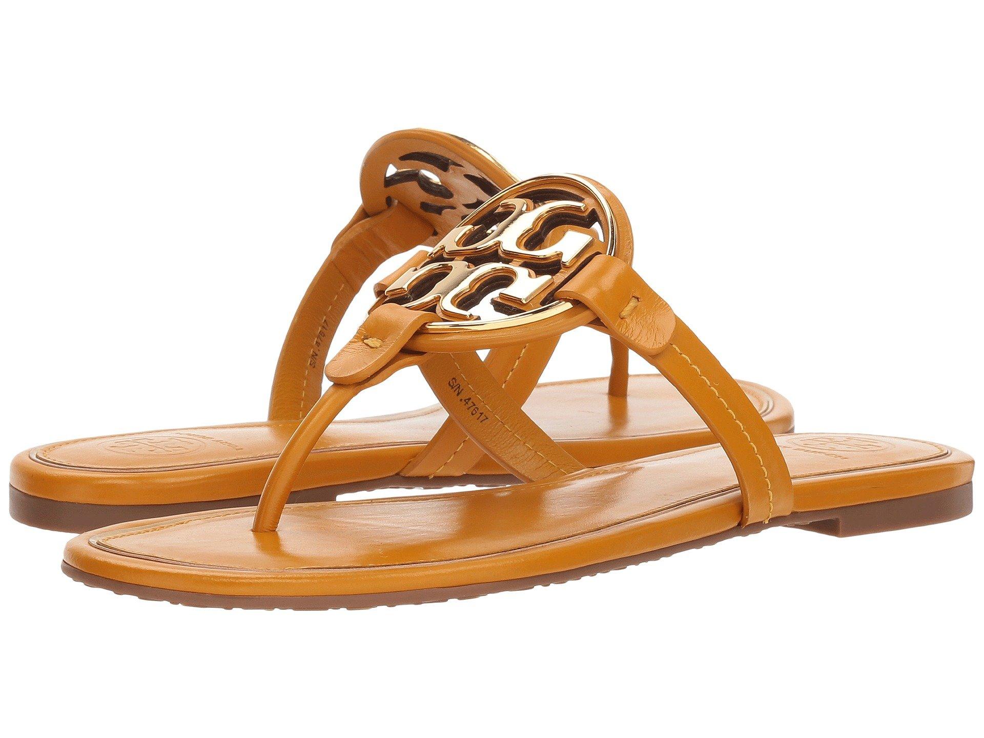 da00889e3 Zappos  Tory Burch Metal Miller sandals – 40% Off + Free Shipping ...