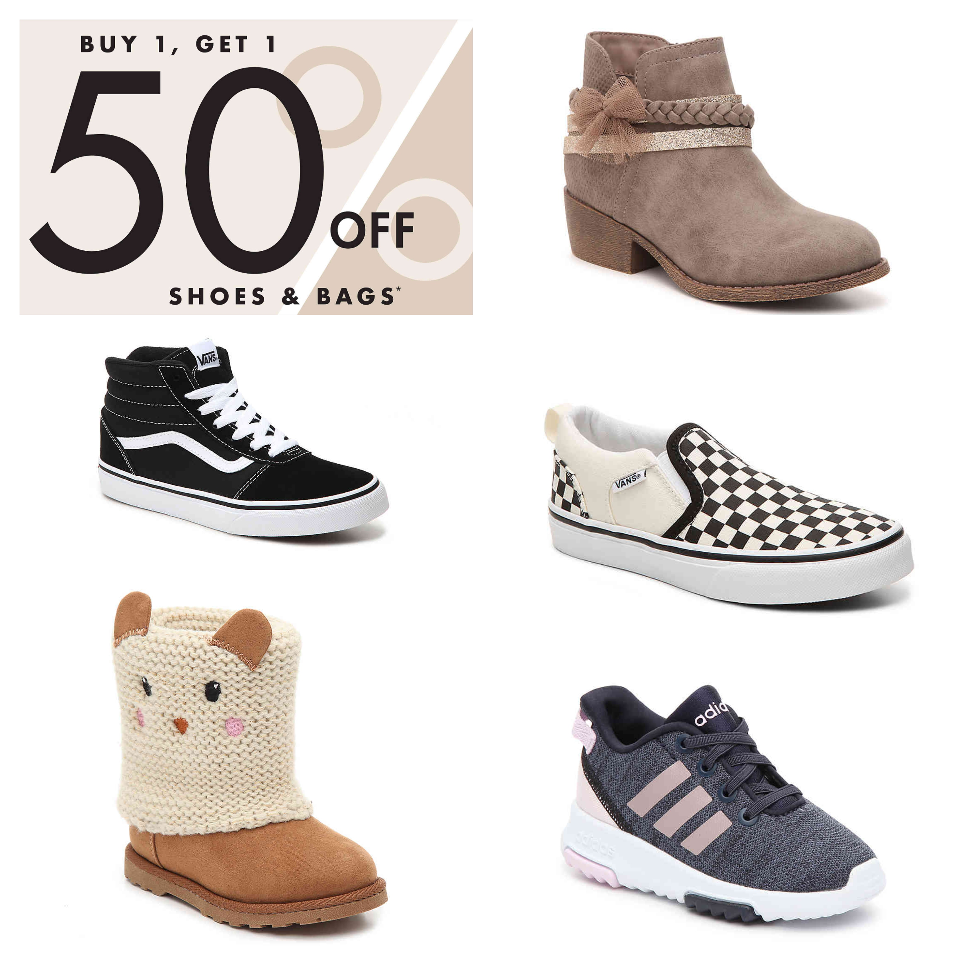 DSW: Buy 1 Get 1 50% Off Bags and Shoes! – Wear It For Less