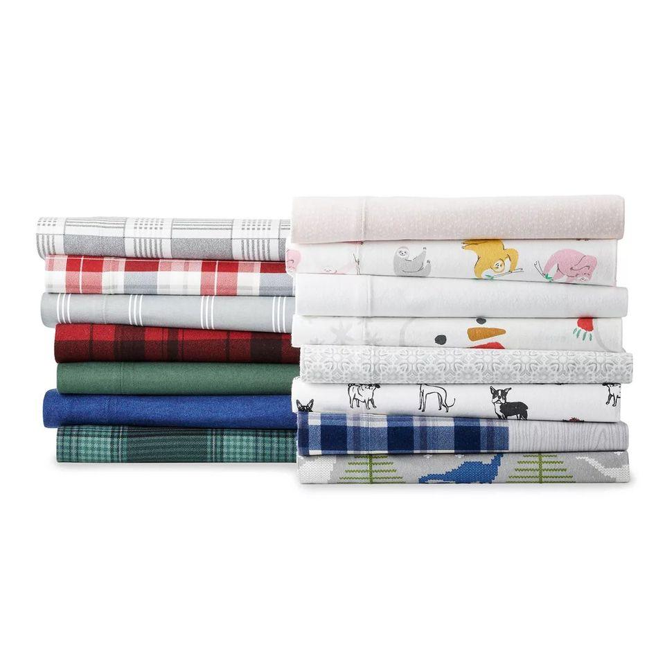 Kohl S Uddl Duds Flannel Sheet Sets Full King Size Only 26 50 Reg 70 120 Wear It For Less