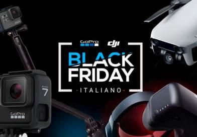 Sulle ali di GoPro e DJI, il Black Friday GoCamera prende il volo